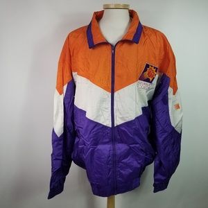 Vintage Phoenix Suns 2XL Nylon Jacket Color Works